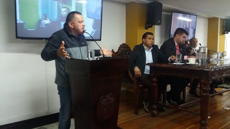 Read more about the article CONCEJALES DE PASTO, RESPALDAN DE MANERA UNÁNIME MOVIMIENTO SOCIAL DE PROTESTA DEL SECTOR TRANSPORTADOR.