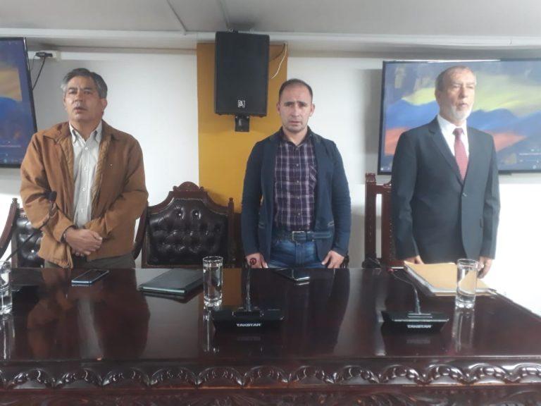 Alcalde Pedro Vicente Obando, instala sesiones extraordinarias del Concejo Municipal de Pasto